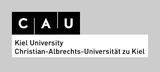 Logo CAU schwarz weiß für mittelhelle Hintergründe-en
